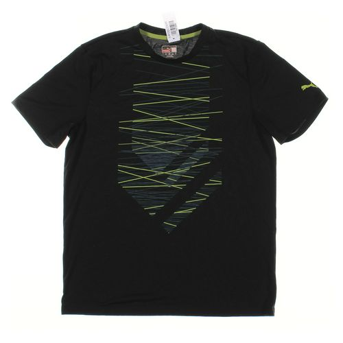 Puma Short Sleeve T-shirt in size L at up to 95% Off - Swap.com