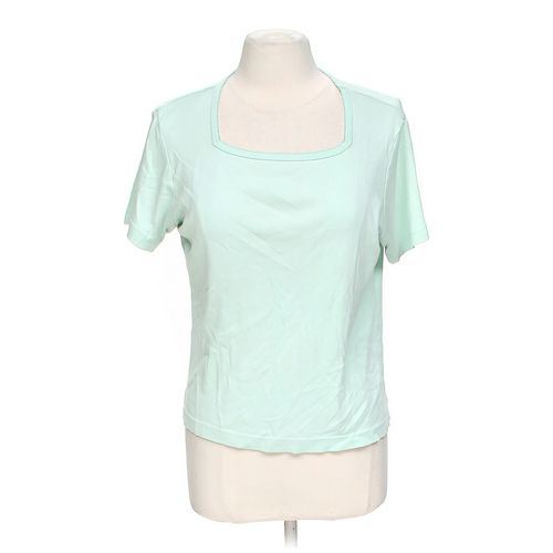 Coldwater Creek Short Sleeved Shirt in size M at up to 95% Off - Swap.com