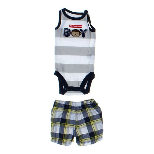 Carter's Shorts & Bodysuit Set in size NB at up to 95% Off - Swap.com