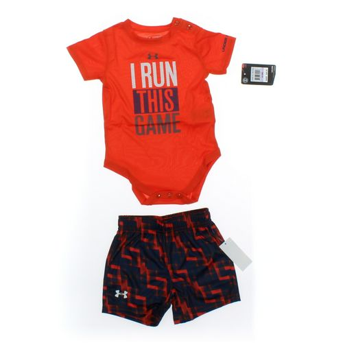 Under Armour Shorts & Bodysuit Set in size 9 mo at up to 95% Off - Swap.com