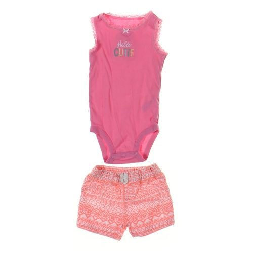 Carter's Shorts & Bodysuit Set in size 9 mo at up to 95% Off - Swap.com
