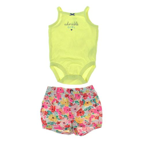 Cherokee Shorts & Bodysuit Set in size 3 mo at up to 95% Off - Swap.com