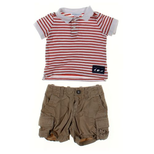 babyGap Shorts & Polo Shirt Set in size 12 mo at up to 95% Off - Swap.com