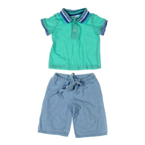 Egg Baby Shorts & Polo Shirt Set in size 12 mo at up to 95% Off - Swap.com