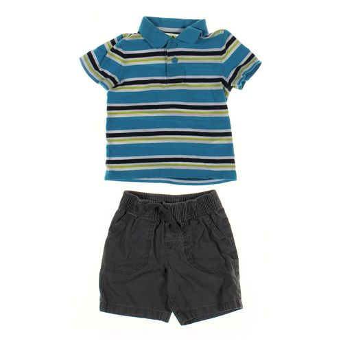 Jumping Beans Shorts & Polo Shirt Set in size 2/2T at up to 95% Off - Swap.com
