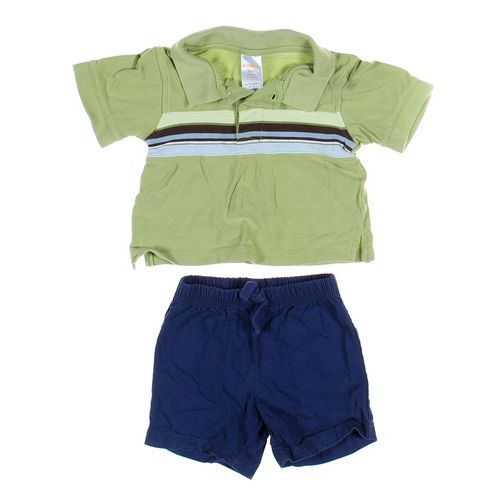 Just One You Shorts & Polo Shirt Set in size 12 mo at up to 95% Off - Swap.com