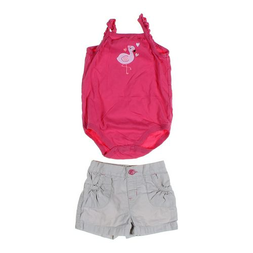 Jumping Beans Shorts & Romper Set in size 18 mo at up to 95% Off - Swap.com