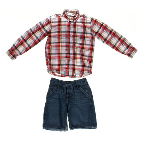 Levi's Shorts & Shirt Set in size 10 at up to 95% Off - Swap.com