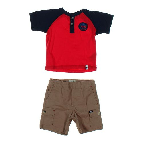 Lucky Brand Shorts & Shirt Set in size 18 mo at up to 95% Off - Swap.com