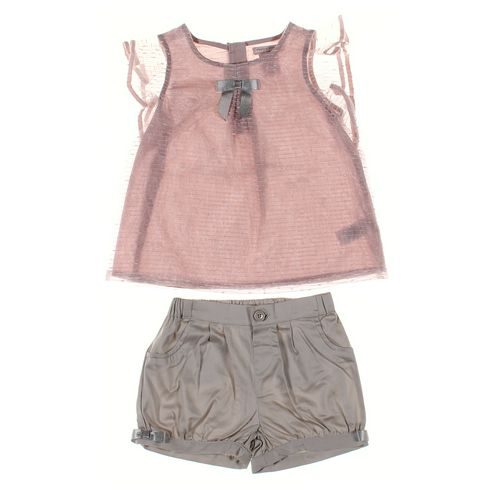 Catherine Malandrino Shorts & Shirt Set in size 4/4T at up to 95% Off - Swap.com
