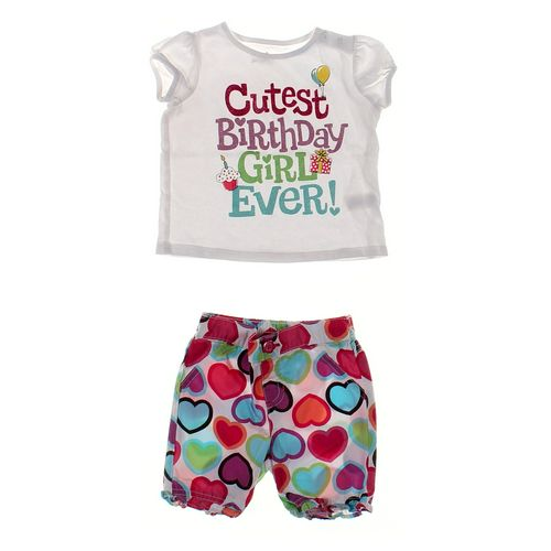 Jumping Beans Shorts & Shirt Set in size 12 mo at up to 95% Off - Swap.com