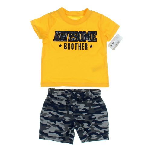 Child of Mine Shorts & T-shirt Set in size 3 mo at up to 95% Off - Swap.com