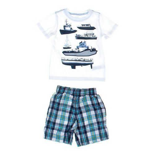 Healthtex Shorts & T-shirt Set in size 24 mo at up to 95% Off - Swap.com