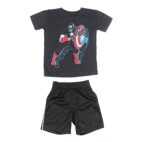 Jumping Beans Shorts & T-shirt Set in size 3/3T at up to 95% Off - Swap.com