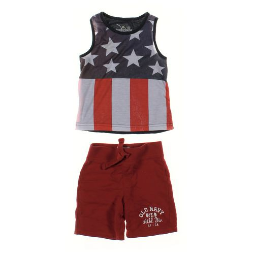 Old Navy Shorts & Tank Top Set in size 2/2T at up to 95% Off - Swap.com