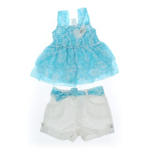 Little Lass Shorts & Tank Top Set in size 2/2T at up to 95% Off - Swap.com