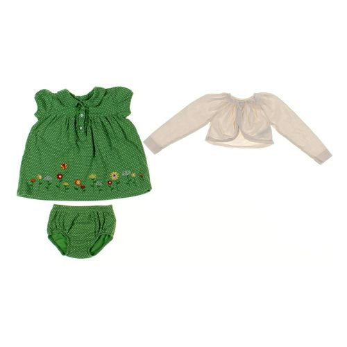 Cherokee Shrug & Dress Set in size 18 mo at up to 95% Off - Swap.com