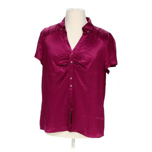 Worthington Silky Blouse in size 1X at up to 95% Off - Swap.com