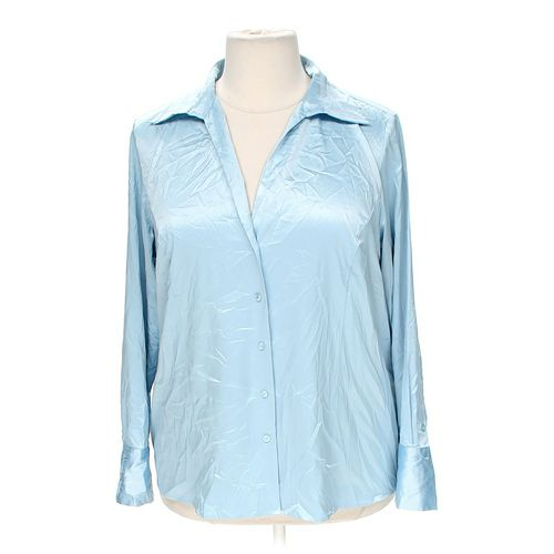 Worthington Silky Button-up in size 2X at up to 95% Off - Swap.com