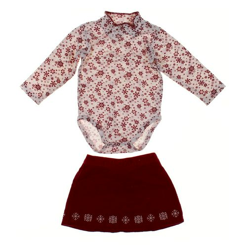 L.L.Bean Skirt & Bodysuit Set in size 12 mo at up to 95% Off - Swap.com