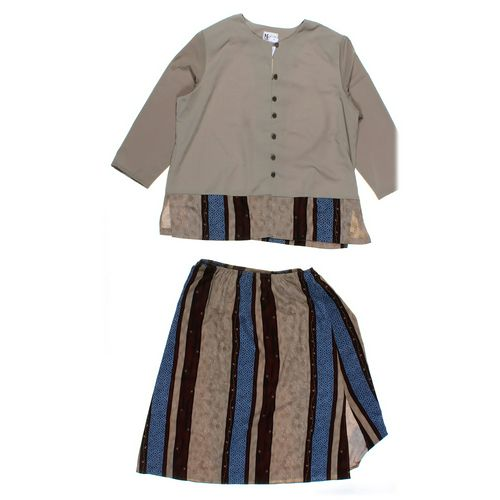 Maggie Sweet Skirt & Button-up Shirt Set in size 2X at up to 95% Off - Swap.com