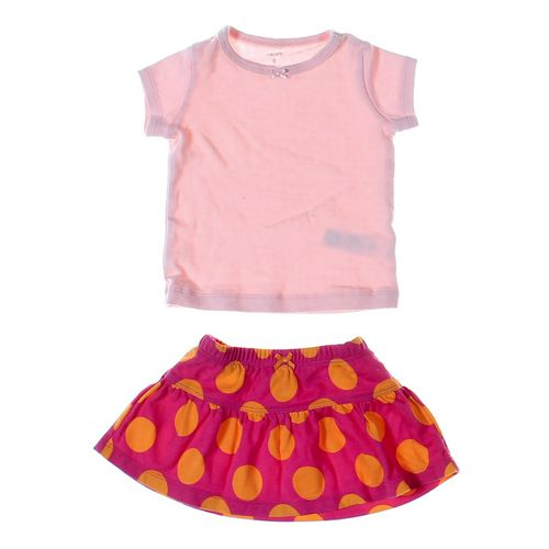 Carter's Skirt & Shirt Set in size 6 mo at up to 95% Off - Swap.com
