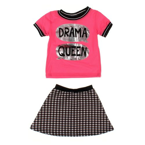 Girls Pink Skirt & Shirt Set in size 2/2T at up to 95% Off - Swap.com