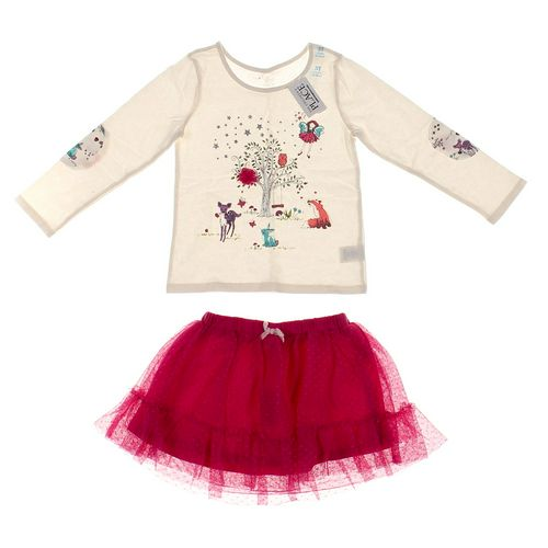 The Children's Place Skirt & Shirt Set in size 3/3T at up to 95% Off - Swap.com