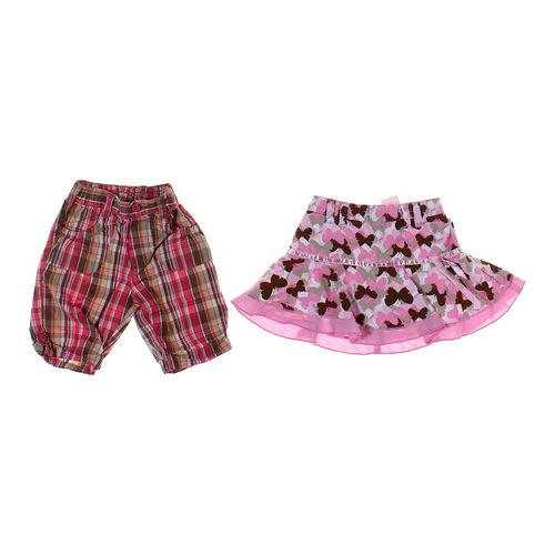 No Kidding Skort & Shorts Set in size 24 mo at up to 95% Off - Swap.com