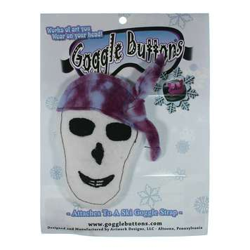 Skull Goggle Button for Sale on Swap.com