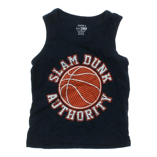 "The Children's Place ""Slam Dunk Authority"" Tank Top in size 4/4T at up to 95% Off - Swap.com"