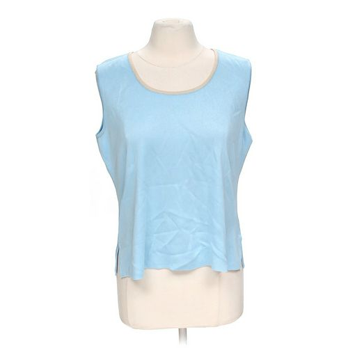 Ming Wang Sleeveless Blouse in size L at up to 95% Off - Swap.com