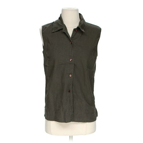 Robert Louis Sleeveless Button-Down Blouse in size S at up to 95% Off - Swap.com