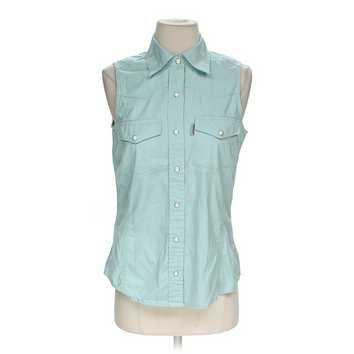 Sleeveless Button-up Shirt for Sale on Swap.com