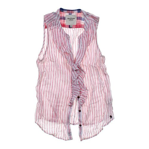 Abercrombie & Fitch Sleeveless Shirt in size 0 at up to 95% Off - Swap.com