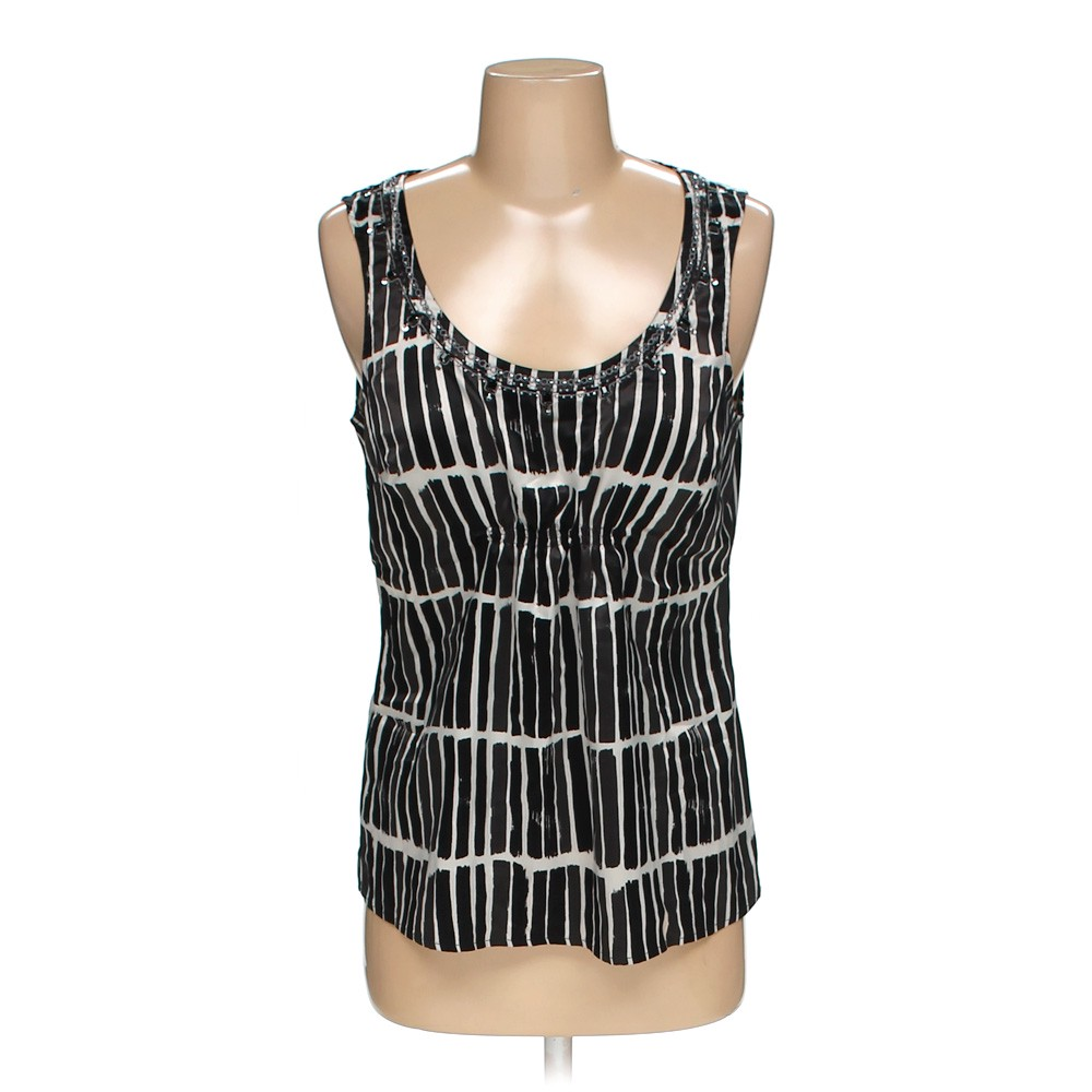 e0dfacb030ee10 Ann Taylor Sleeveless Top in size 2 at up to 95% Off - Swap.