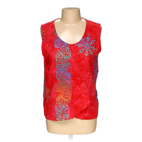 Bali Batiks Resortwear Sleeveless Top in size L at up to 95% Off - Swap.com
