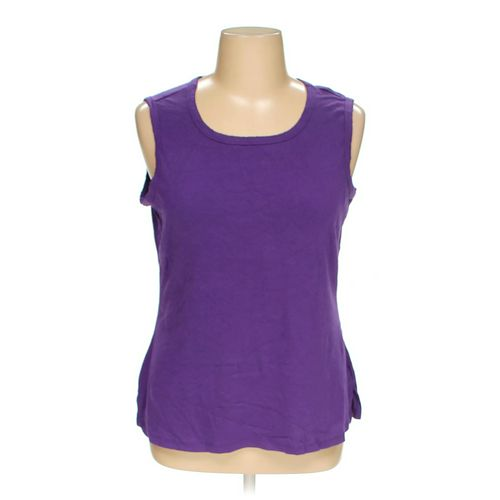 Basic Editions Sleeveless Top in size 1X at up to 95% Off - Swap.com