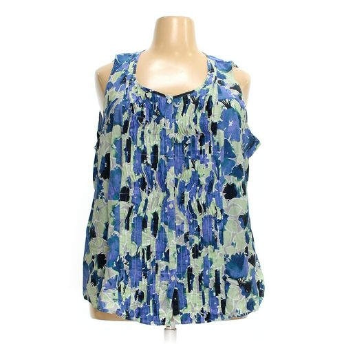 Basic Editions Sleeveless Top in size 3X at up to 95% Off - Swap.com