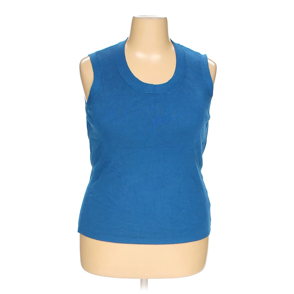 3a28148d8bbca Charter Club Sleeveless Top in size 2X at up to 95% Off - Swap.