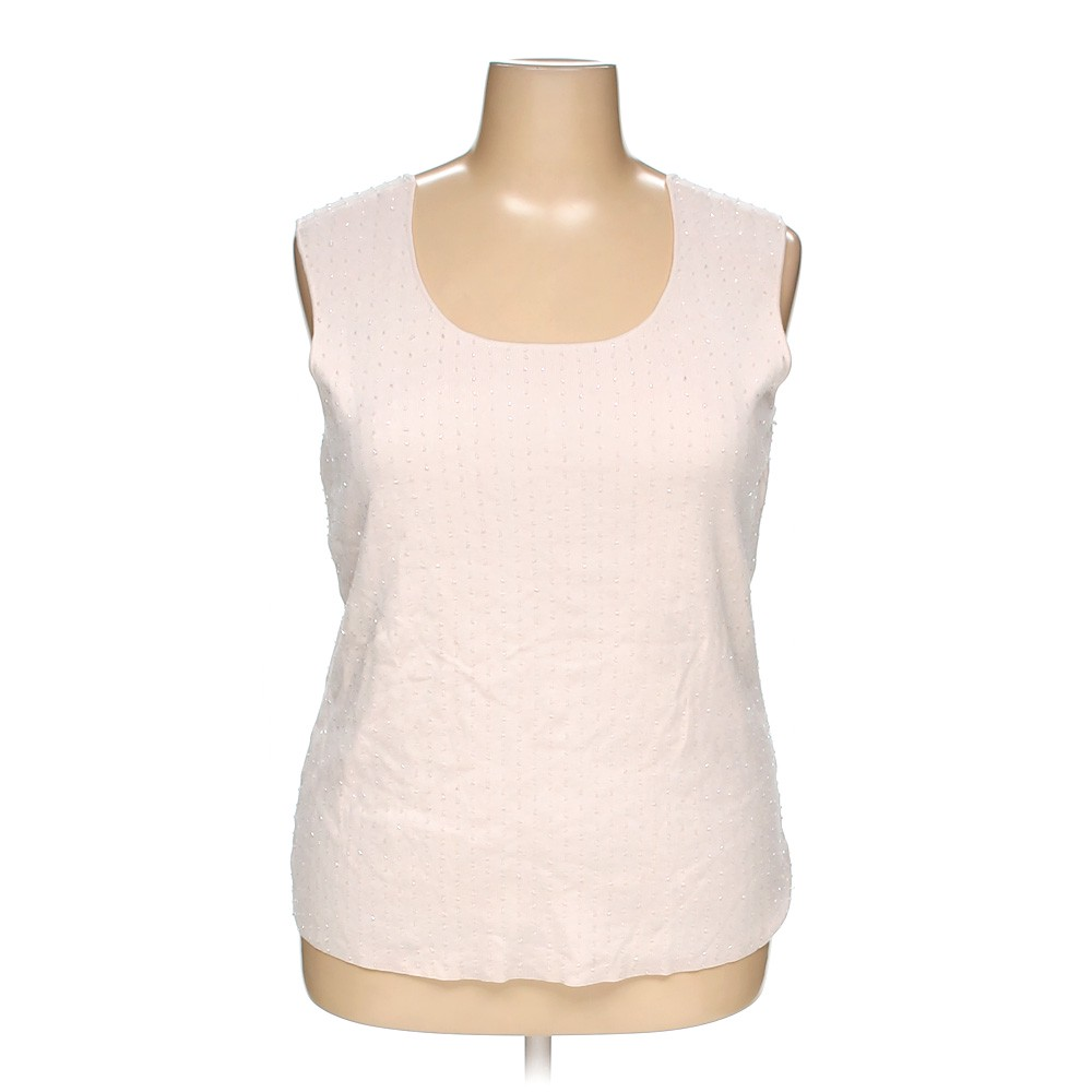 e6bc1a12cf3e3 Charter Club Sleeveless Top in size 2X at up to 95% Off - Swap.