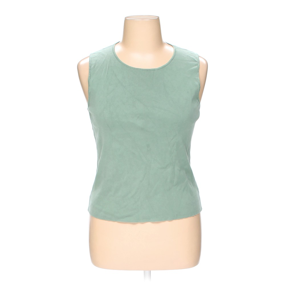 9d408b217584b Charter Club Sleeveless Top in size XL at up to 95% Off - Swap.