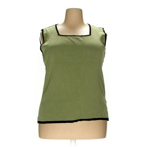 dressbarn Sleeveless Top in size 22 at up to 95% Off - Swap.com