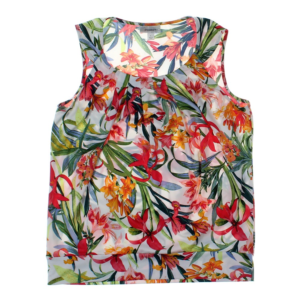 8efcf73f52f dressbarn Sleeveless Top in size L at up to 95% Off - Swap.com