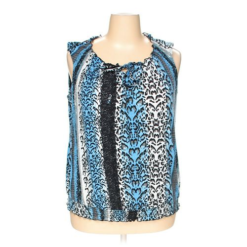 Faded Glory Sleeveless Top in size 2X at up to 95% Off - Swap.com