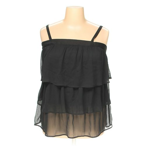 Fashion Bug Sleeveless Top in size 1X at up to 95% Off - Swap.com