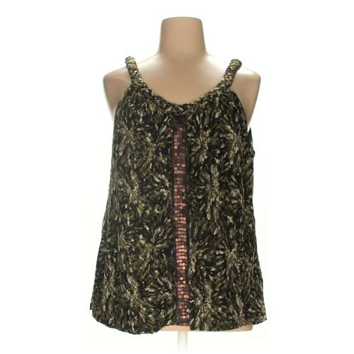 Fashion Bug Sleeveless Top in size 2X at up to 95% Off - Swap.com