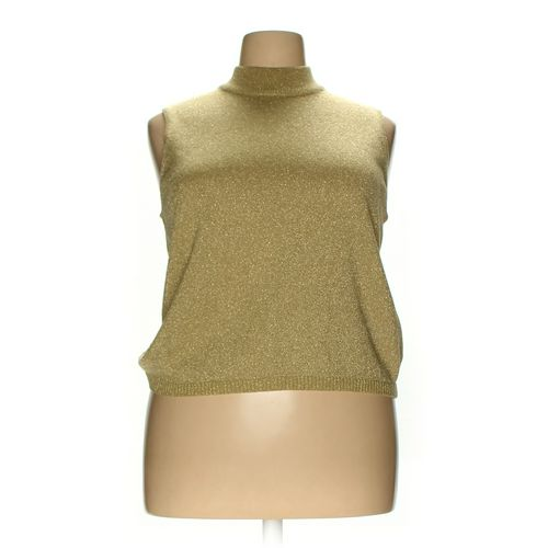Joan Leslie Sleeveless Top in size 1X at up to 95% Off - Swap.com