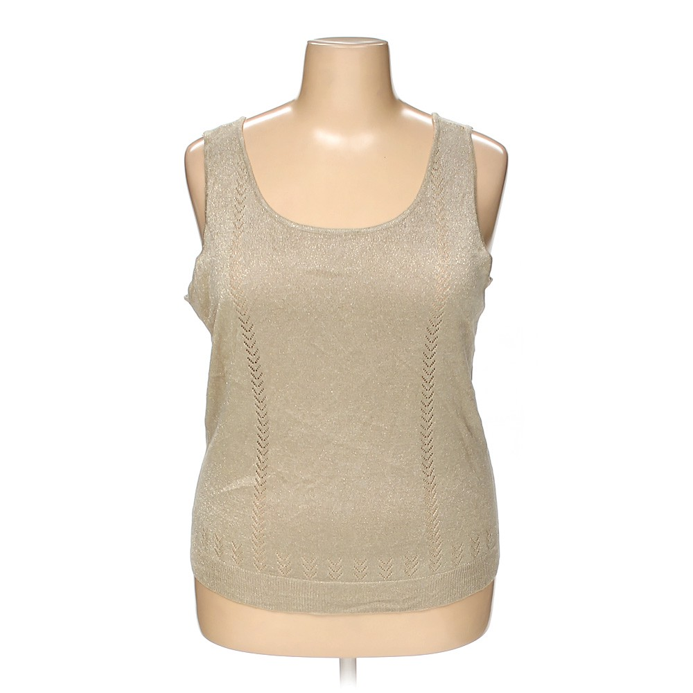 462cafeb3e071 Lane Bryant Sleeveless Top in size 22 at up to 95% Off - Swap.