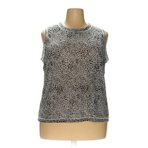 Laura Ashley Sleeveless Top in size 2X at up to 95% Off - Swap.com
